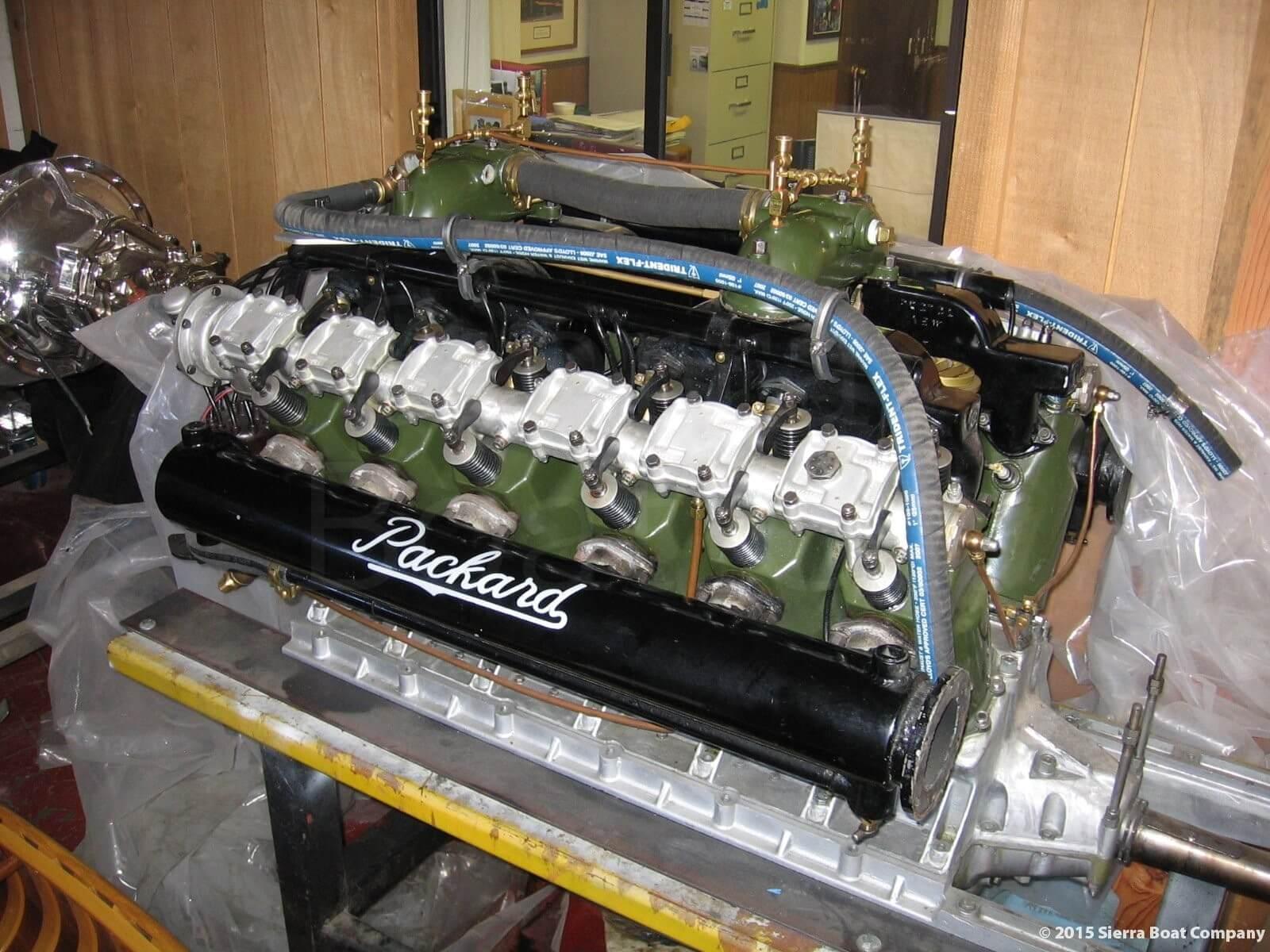 Packard Engine