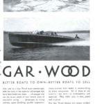 1930 Gar Wood 28 Triple Cockpit Runabout