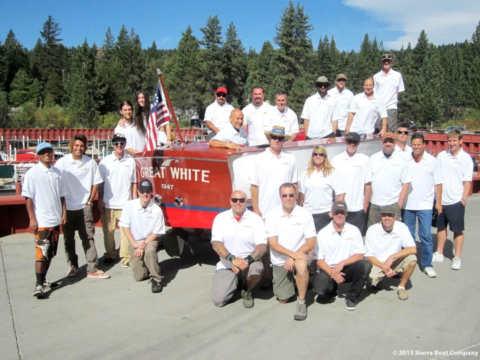 The Sierra Boat Company Crew