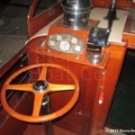 1929 Chris Craft Custom Commuter Rear helm