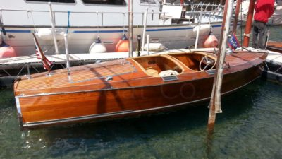 1936 Chris Craft 19ft Custom Runabout