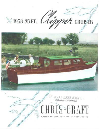 2004 Chris Craft 25ft Corsair Heritage Package - SOLD