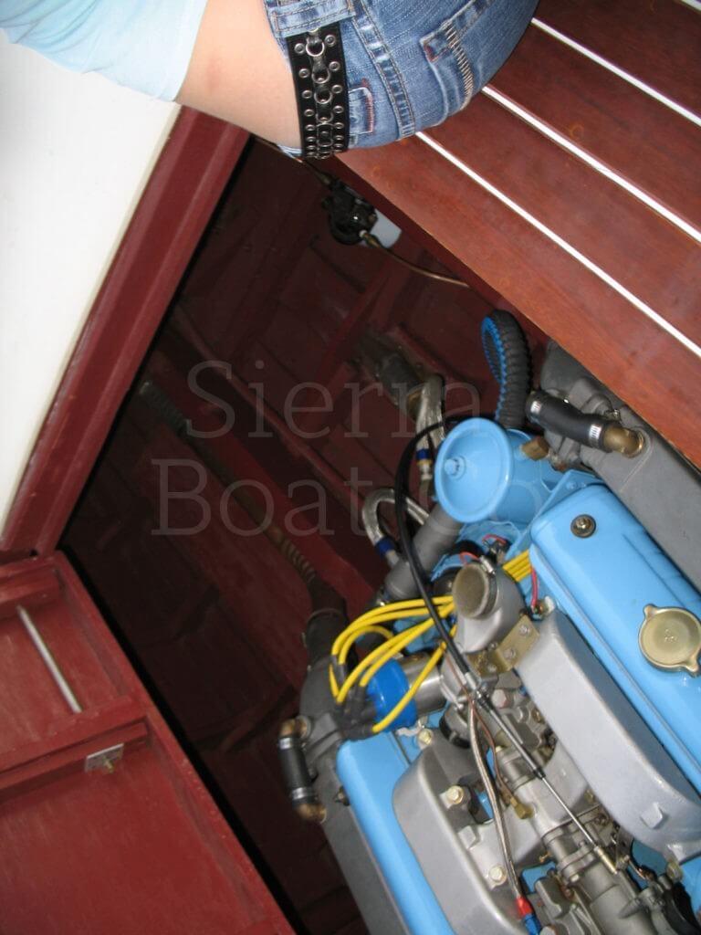 1946 Glazer E Class Service Runabout Sierra Boat Company Lincoln Wiring 1959 Century 19ft Arabian