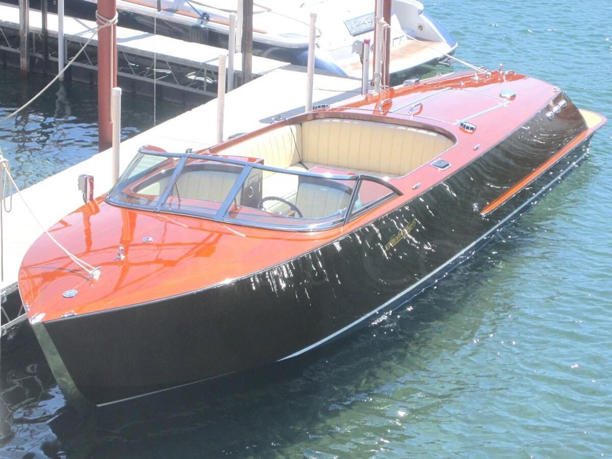 The contemporary Sport Boat model by Hacker Boat Company