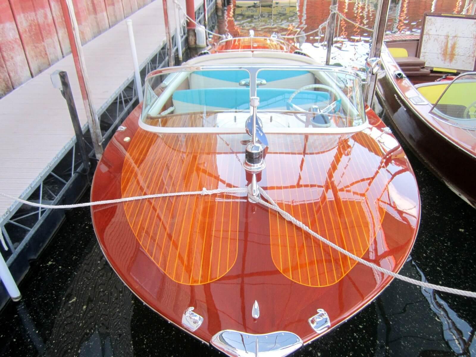 riva boats wood