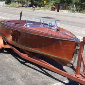 Chris Craft 19ft Custom Runabout