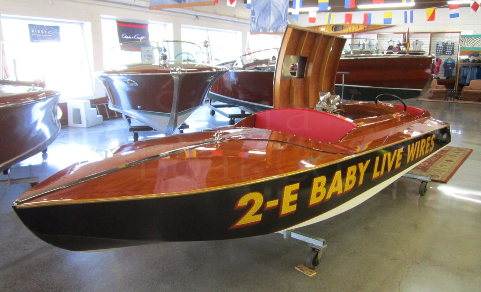 1946 Glazer E Class Service Runabout Sierra Boat Company Lincoln Wiring This