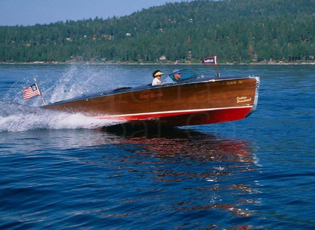 "1941 Gar Wood 25'6"" Triple Cockpit Custom Runabout"