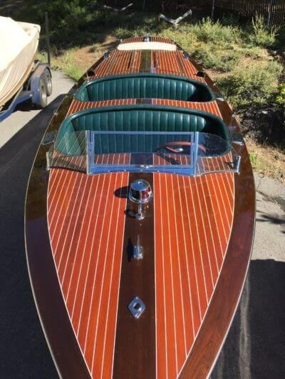1998 Hacker-Craft 24ft Triple Cockpit Runabout