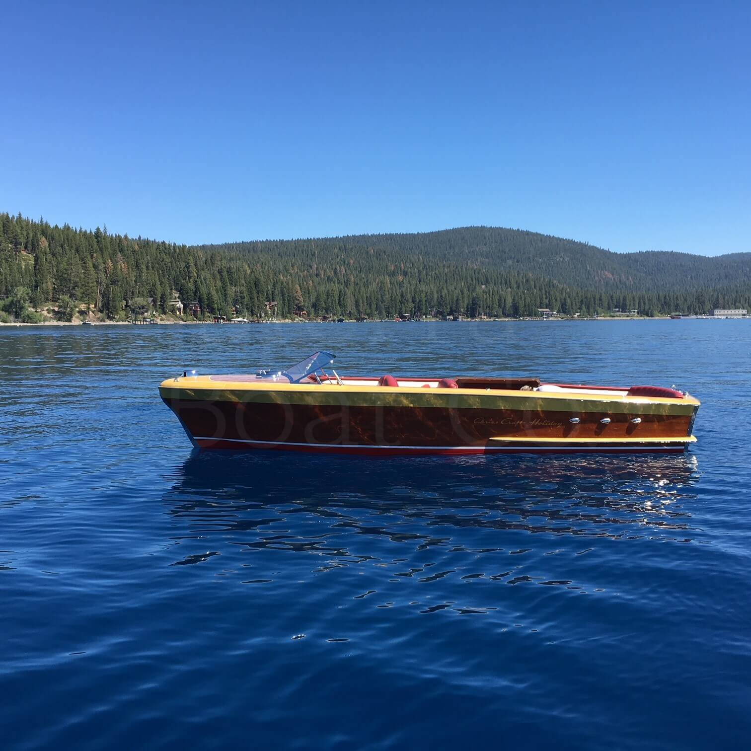 1954 Chris Craft 24ft Holiday