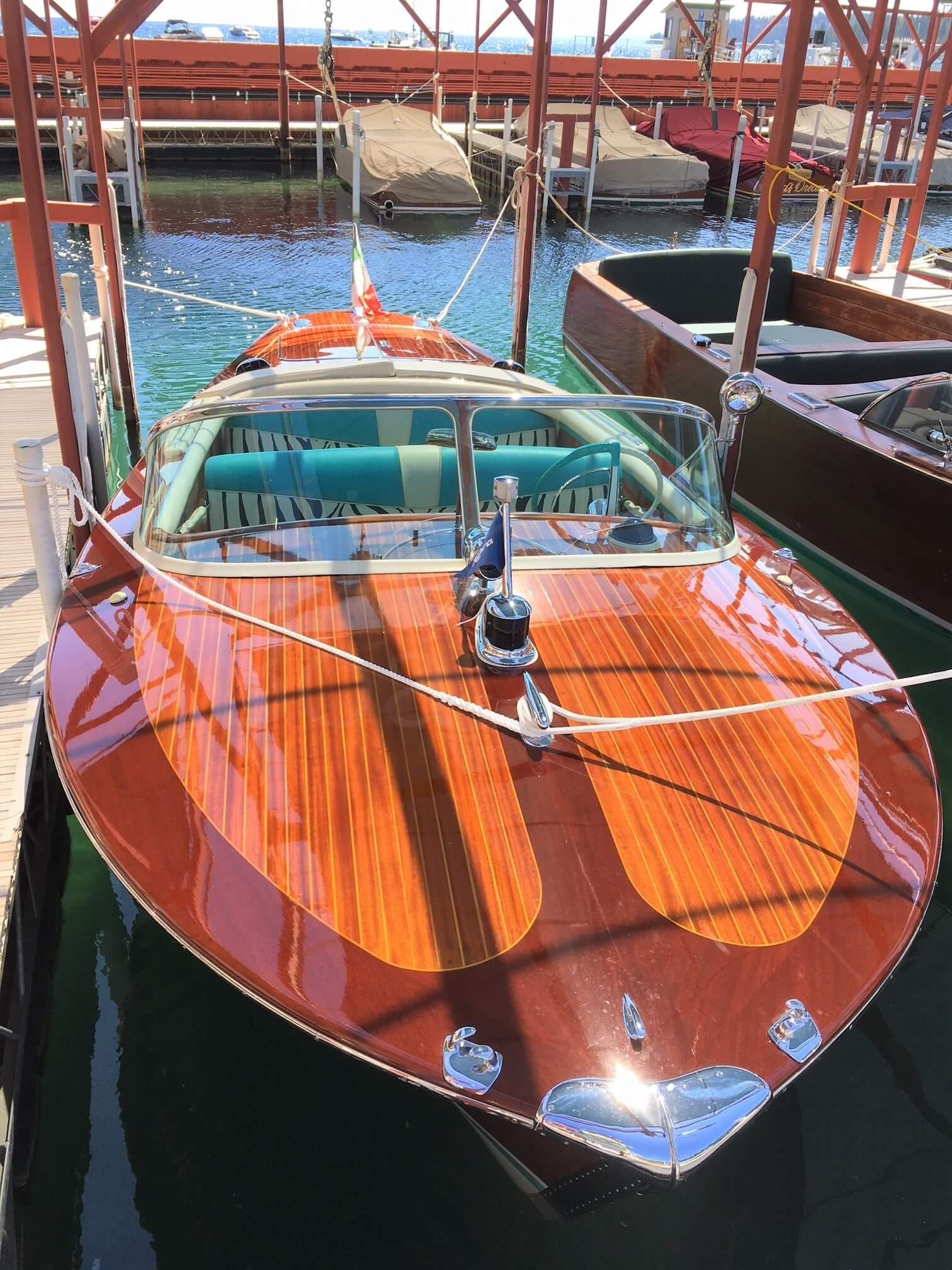 Riva Boats Sierra Boat Company Lake Tahoe