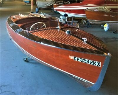 1938 Chris Craft 19ft Custom Runabout