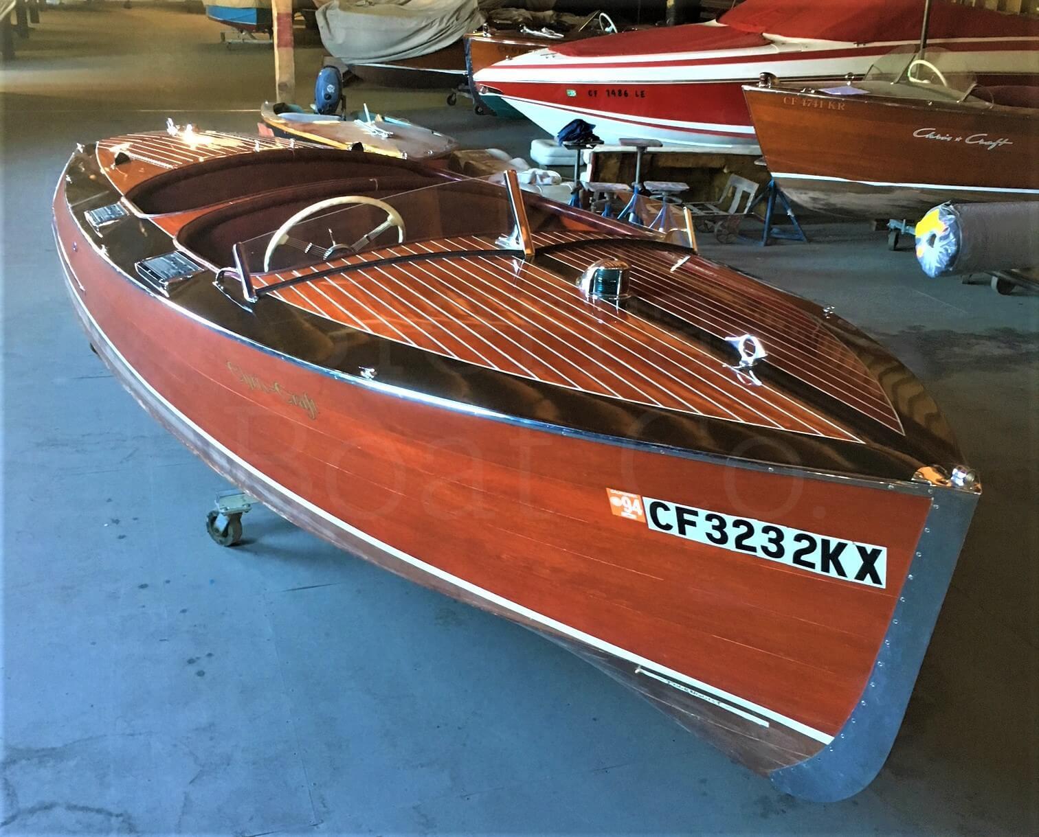 1938 Chris Craft 19ft Custom Runabout