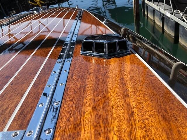 1955 Chris Craft 21ft Capri Sierra Boat Co Hemi Engine