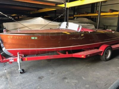 1948 Chris Craft 19ft Racing Runabout
