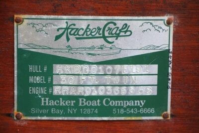 1991 Hacker-Craft