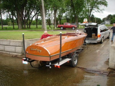 1939 Chris Craft 19ft Custom Runabout