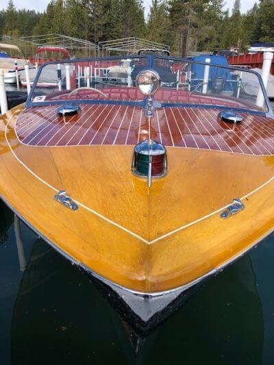 1950 Chris Craft 23ft Holiday