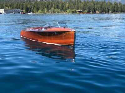 1940 Gar Wood 19ft Custom Runabout