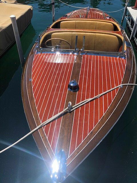 1938 Chris Craft 25ft Clipper Cruiser