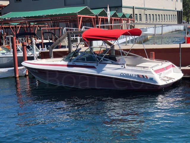 1991 Cobalt 222 - SOLD - Sierra Boat Company - Low Engine Hours